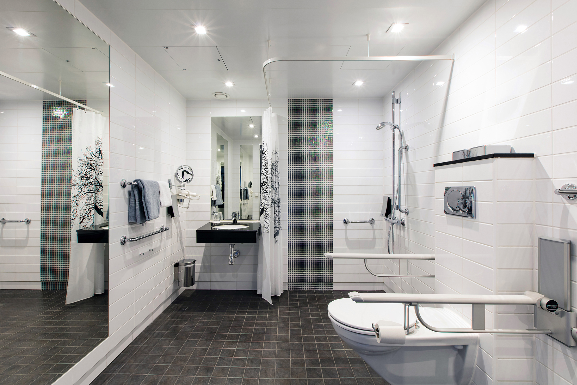 Mobility Adaptions for disabled bathroom