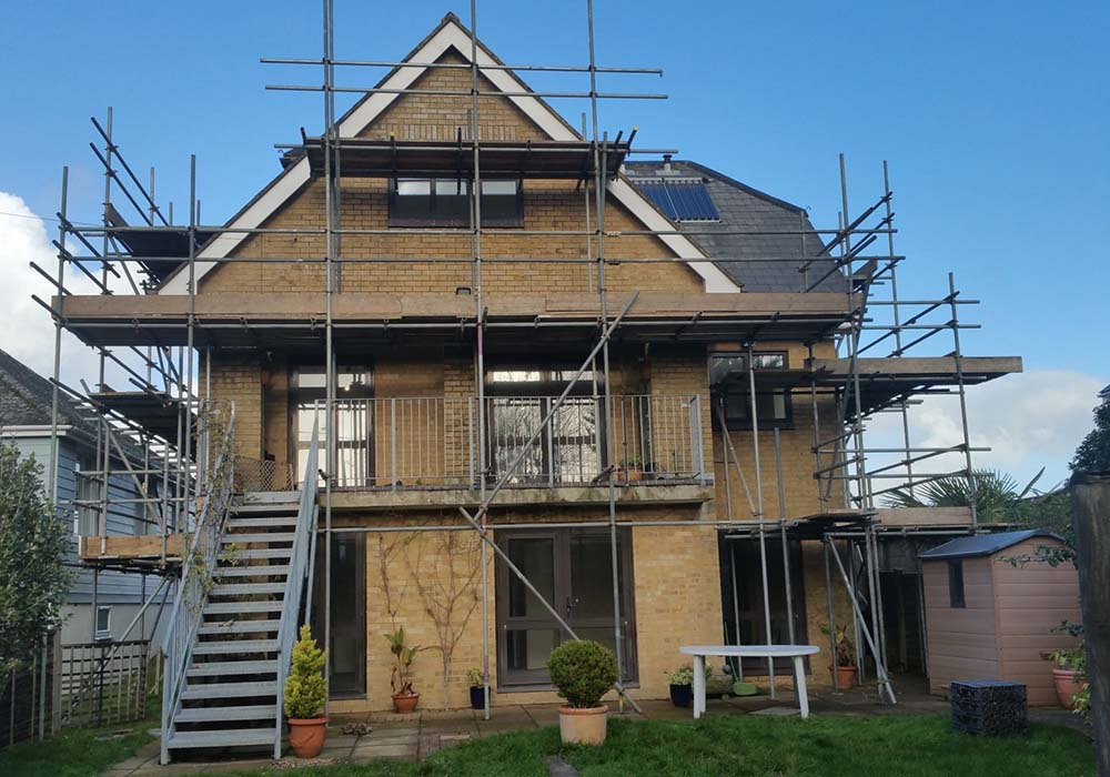 Large home being Renovated